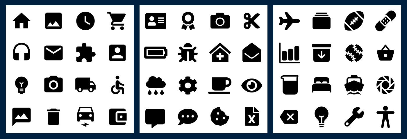 如何选择合适的图标?来看这份图标类型和风格汇总