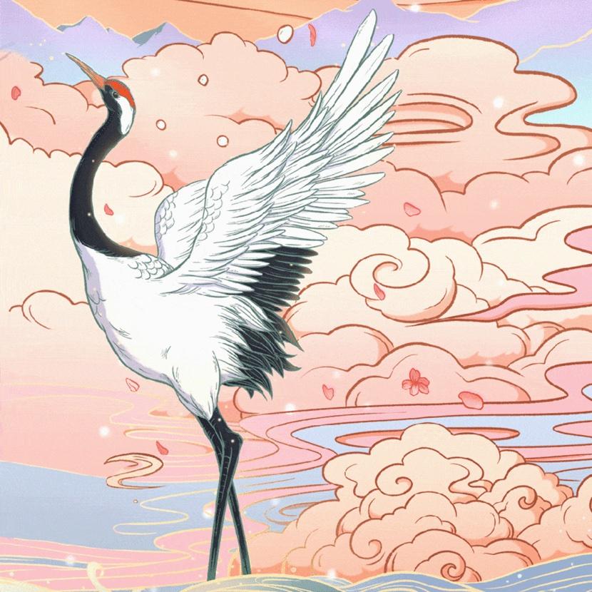 第一个商单就是王俊凯,这位刚毕业的国潮插画师怎么做到的?
