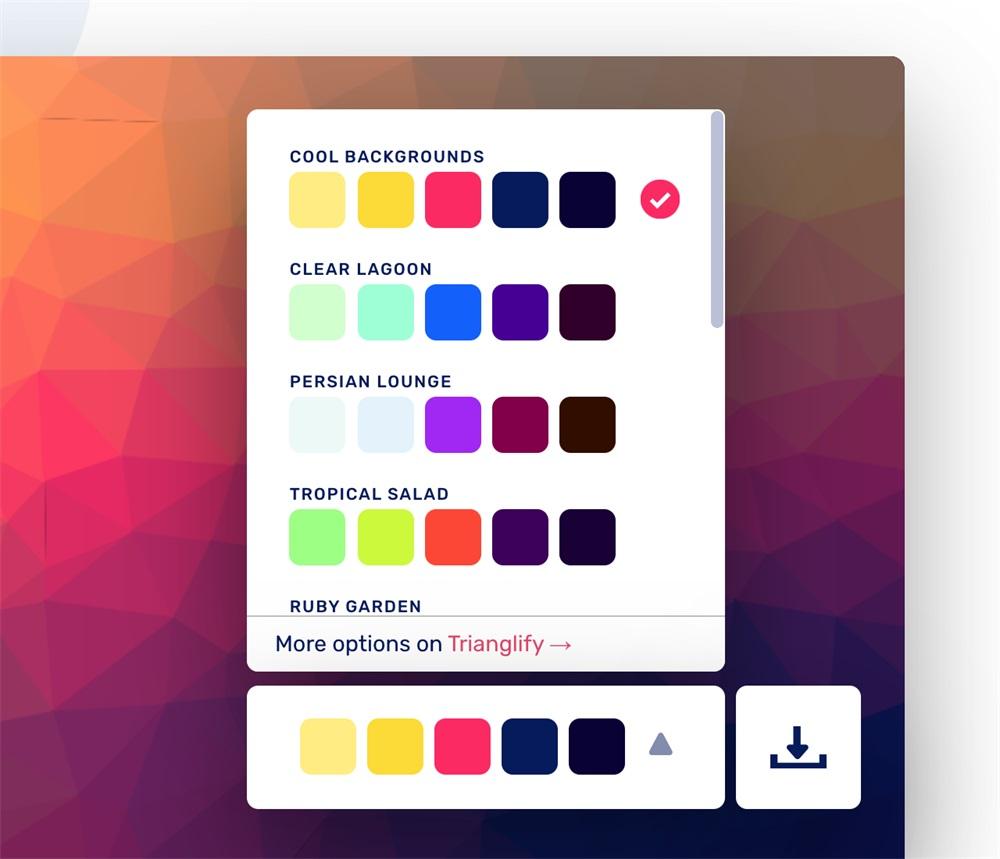 发现一个宝藏背景素材网站,五种风格!颜值超在线!