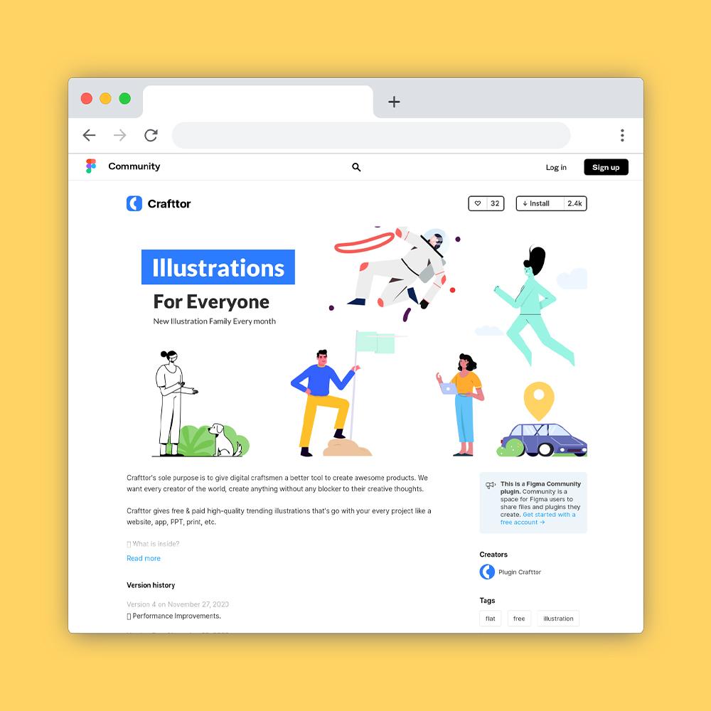 2021年值得收藏的6个免费插画图库网站