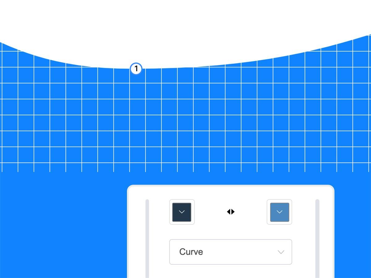这位12岁少年开发的免费网站,能帮你快速生成波浪形背景!