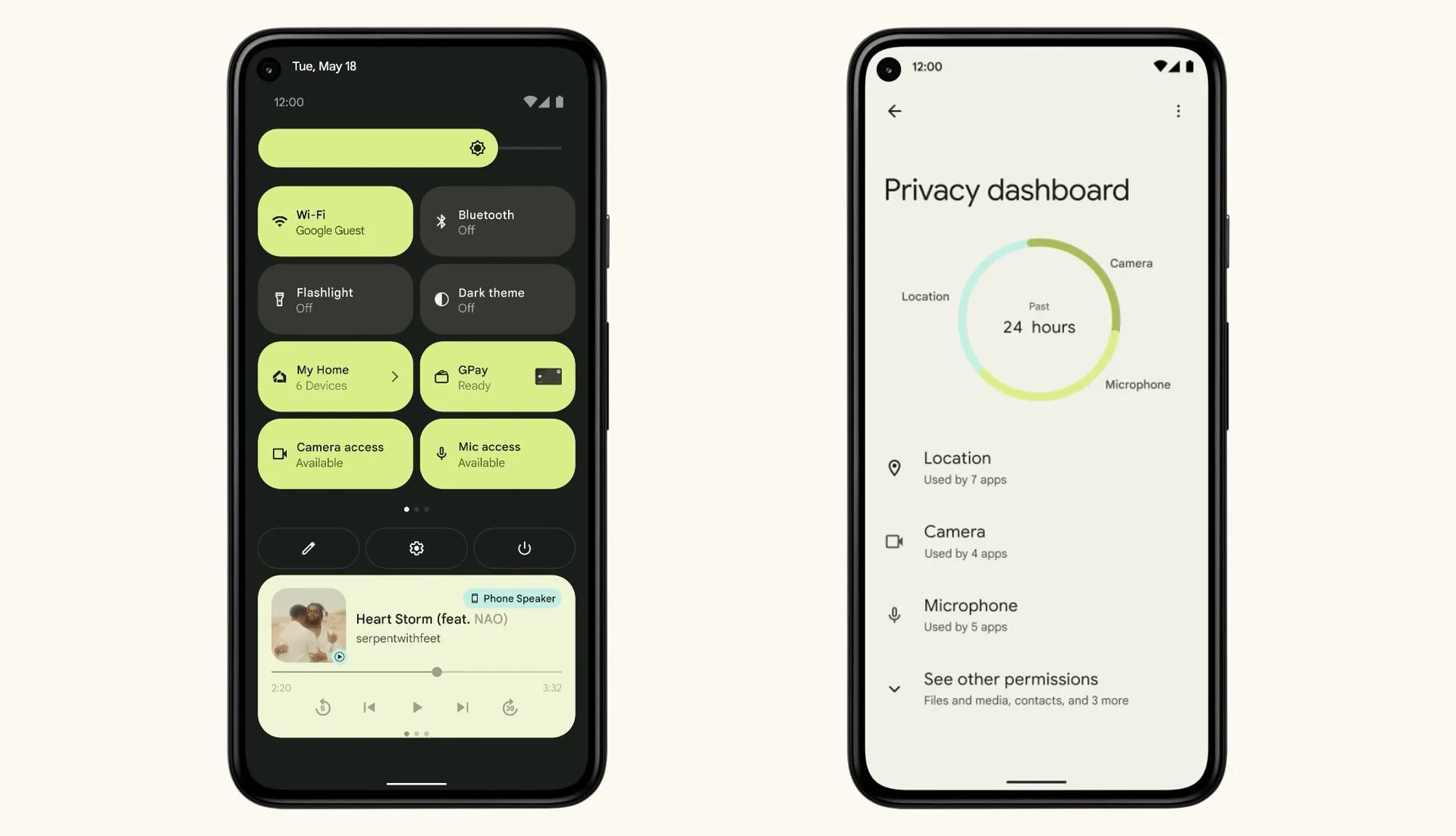 Android 12 : 一次系统更新 + 设计变革 + 权利更迭