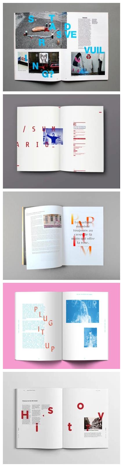 收下这9个版式技巧,让你的画册变得灵活又整洁!