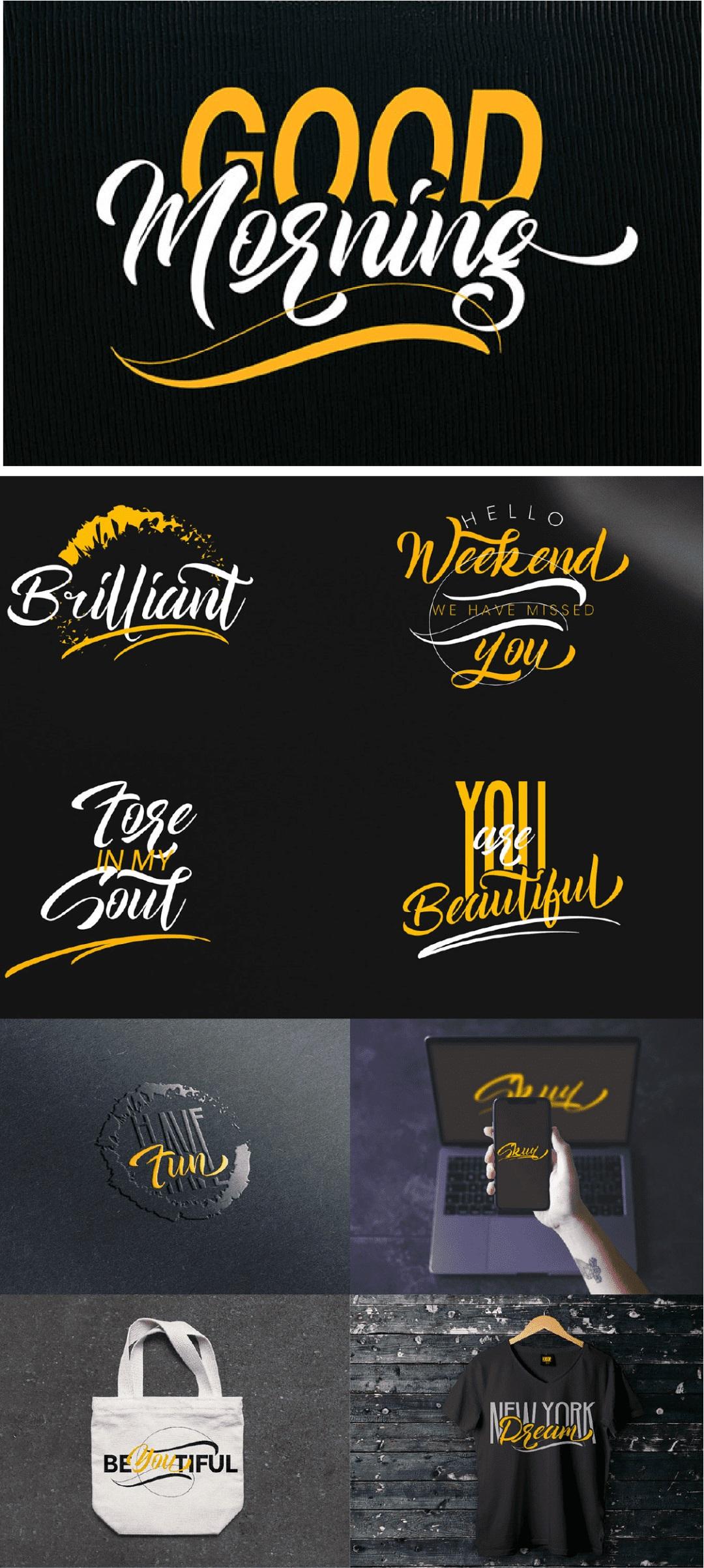还缺免费英文字体?9款活泼可爱风格的字体打包!