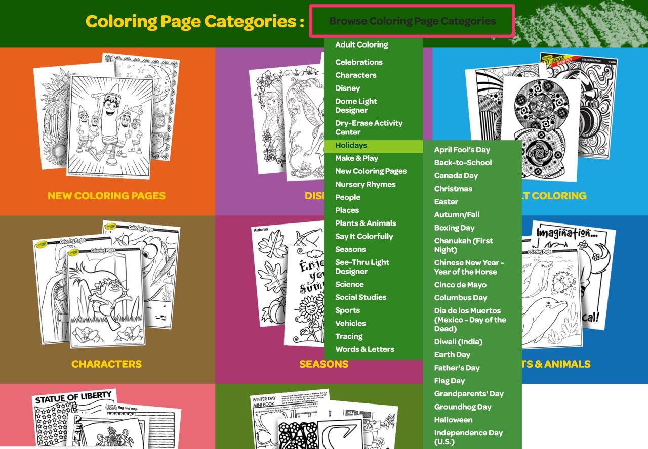 适合设计师的解压涂色本,来 Crayola 免费下载!
