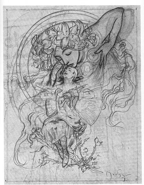 从小提琴手到顶尖插画师:穆夏大神炼成记