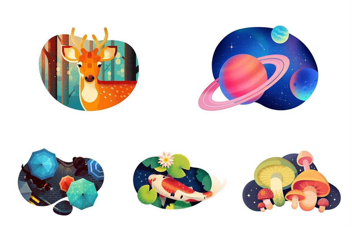 这10个 Dribbble 顶尖大神的作品,是我每日学习的源泉