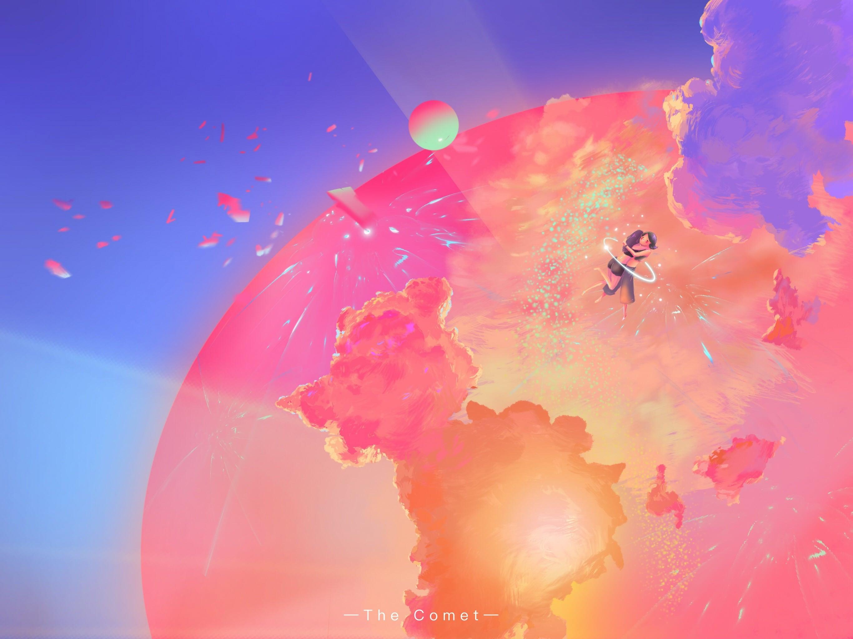 知名插画师林不慌:如何用 iPad 创作出梦幻画风?