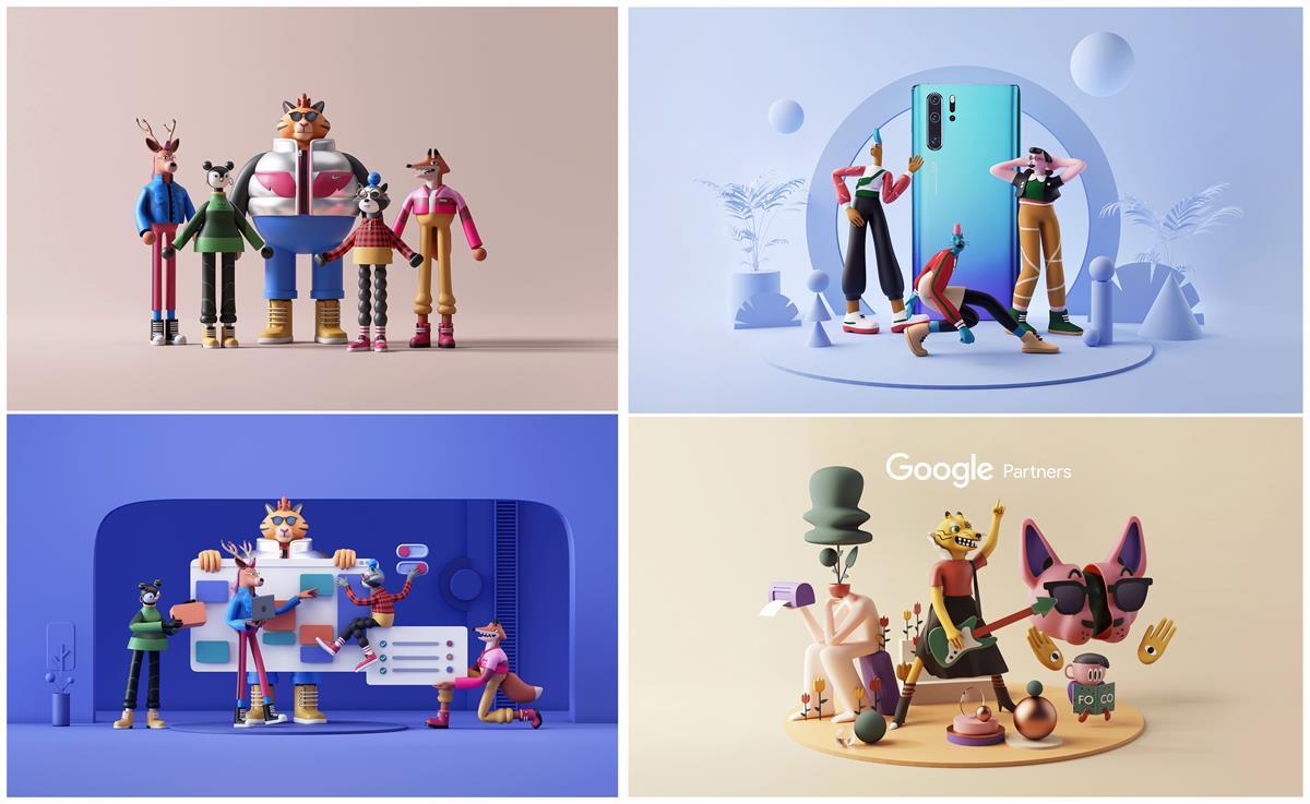 这8个顶尖3D大神的作品,是我每日学习的源泉