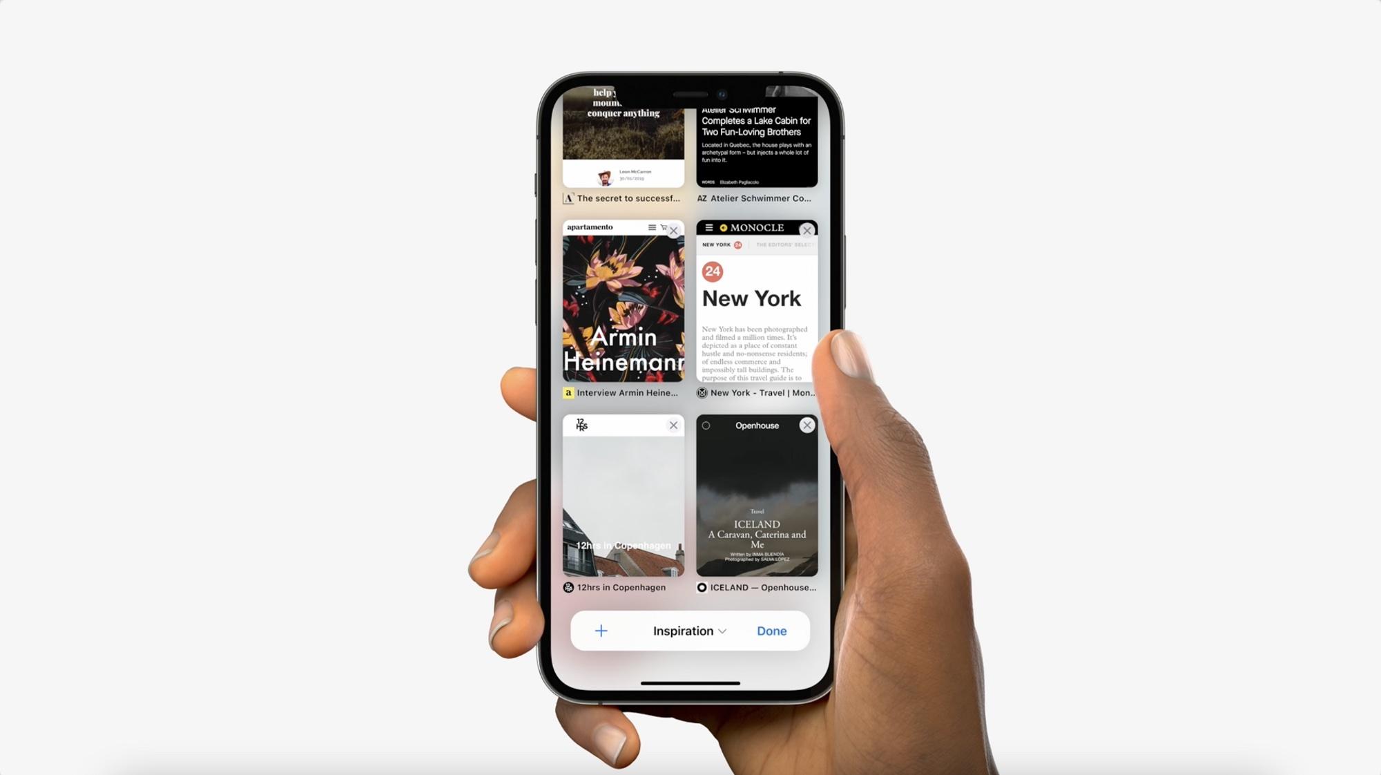 新版 iOS 15 Safari 有哪些值得学习的交互设计?全总结好了!