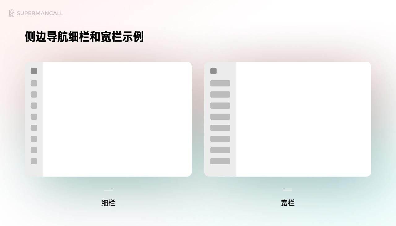 超详细!总监出品的B端设计规范指南(六):导航栏