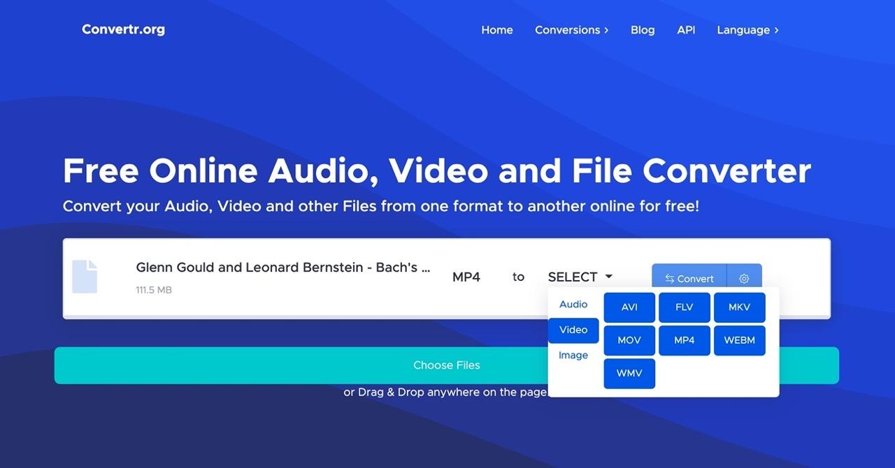 免费超好用!支持视频、音频、图片格式转换的在线神器「Convertr」