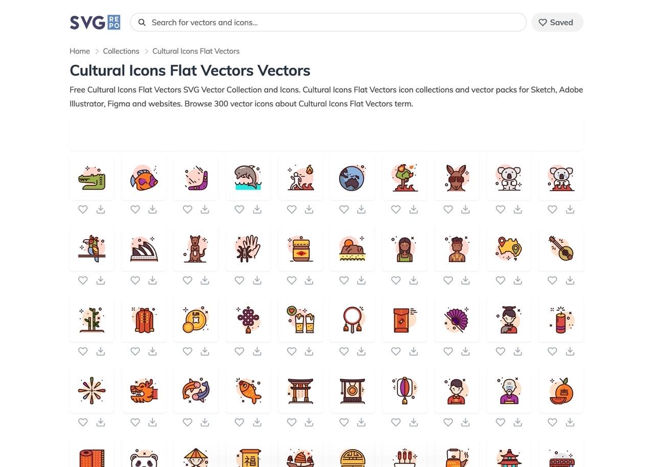 快收藏!超过 30 万个免费矢量图标下载的「SVG Repo」