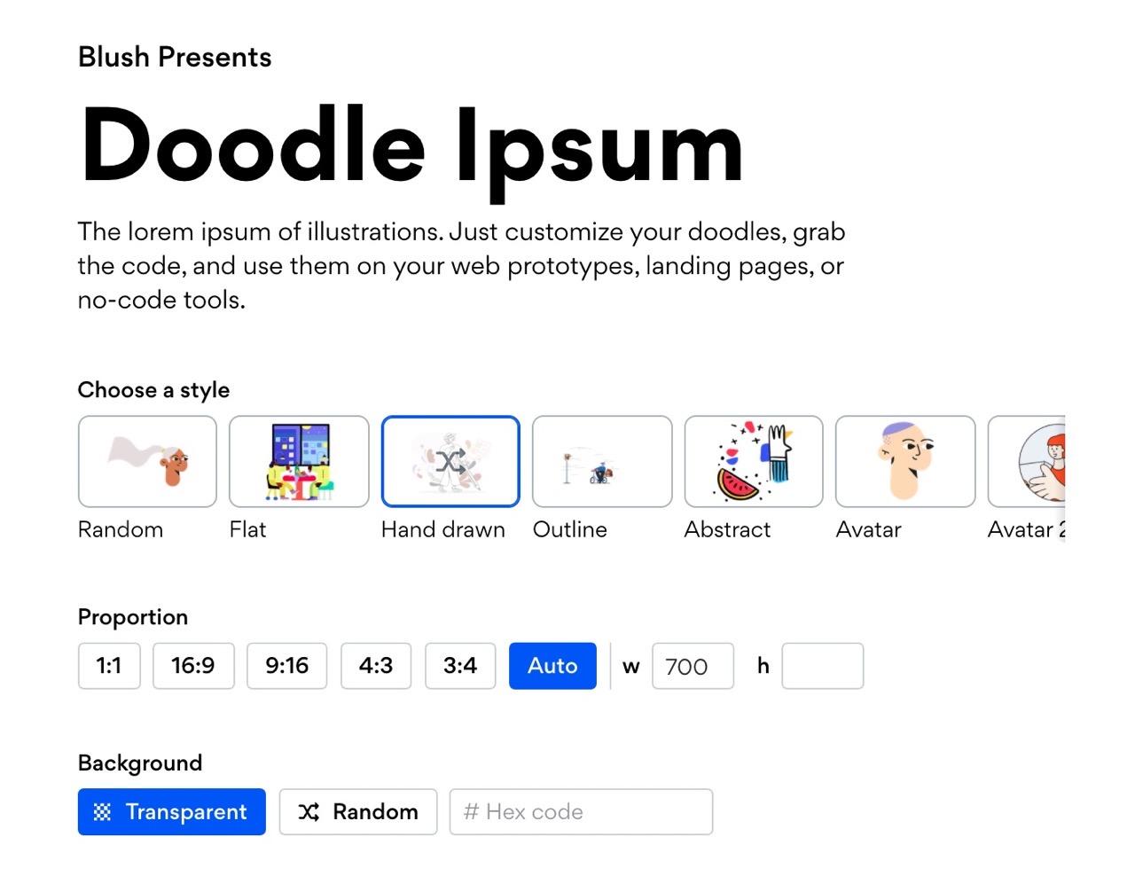 想找好看的占位图?Doodle Ipsum 有超多!